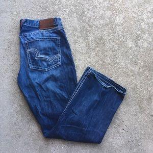 Men's Big Star Pioneer Boot Cut Jeans Size 36 L